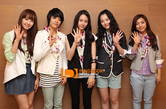 Fx girl group news