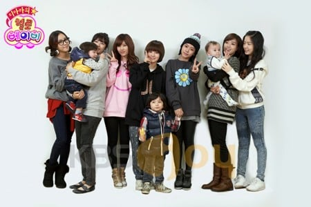 "T-ara to take care of Moon Mason for ""Hello Baby ..."