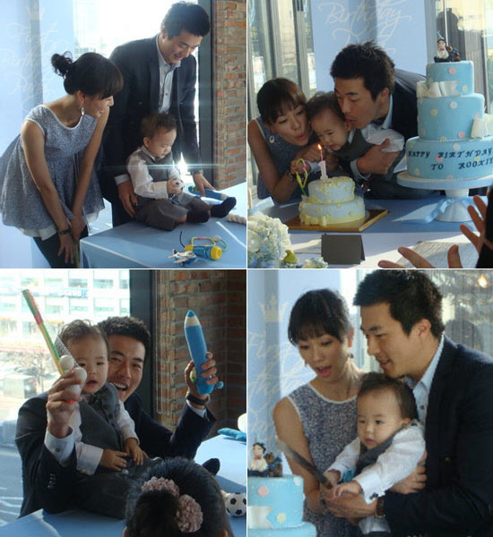 Photos Of Kwon Sang Woo S Family Draw Smiles From Fans