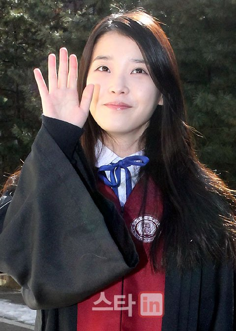 IU officially graduates from high school