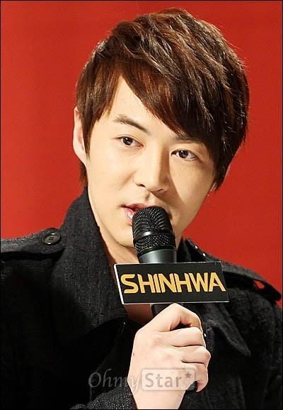Junjin Shinhwa Jun Jin's contract wit...