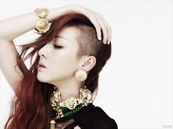 2NE1's Dara reveals she shed tears as she shaved her head ...