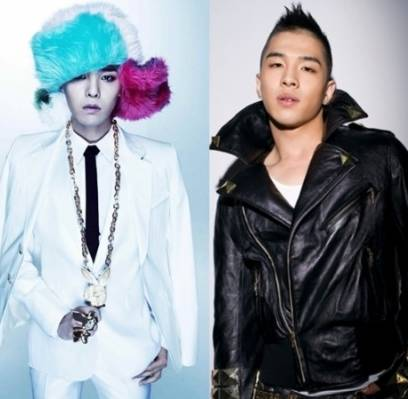 Big-Bang,Taeyang,G-Dragon