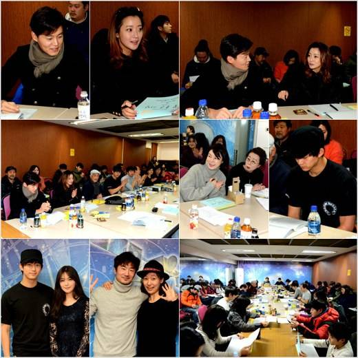 Taecyeon, Kim Hee Sun, Lee Seo Jin, and more attend first script reading for 'Very Good Days'