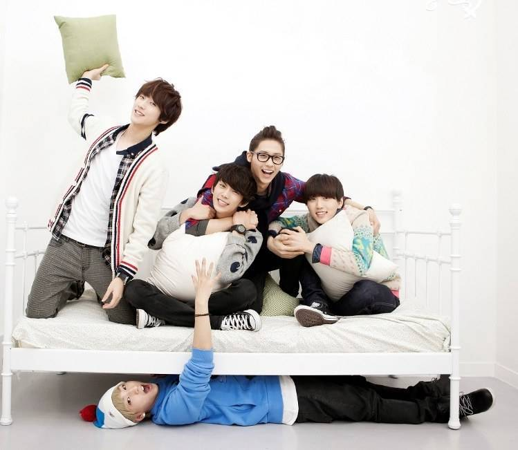 B1A4 to go on a  Hometown  B1a4 Sandeul 2014
