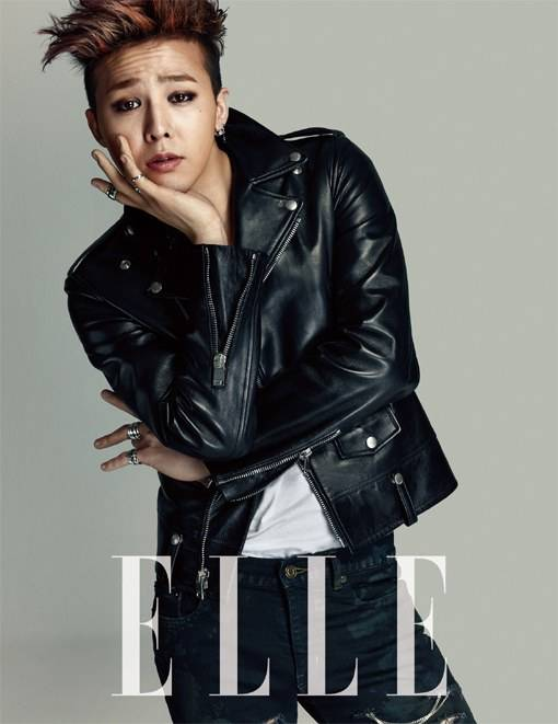 G Dragon Takes On The 39 Genderless 39 Fashion Trend For 39 Elle 39