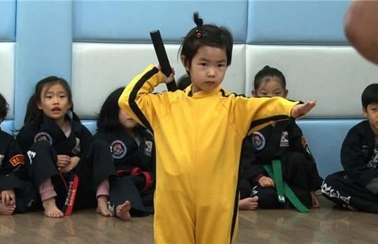 Tablo's daughter Haru shows off her martial arts skills on ...