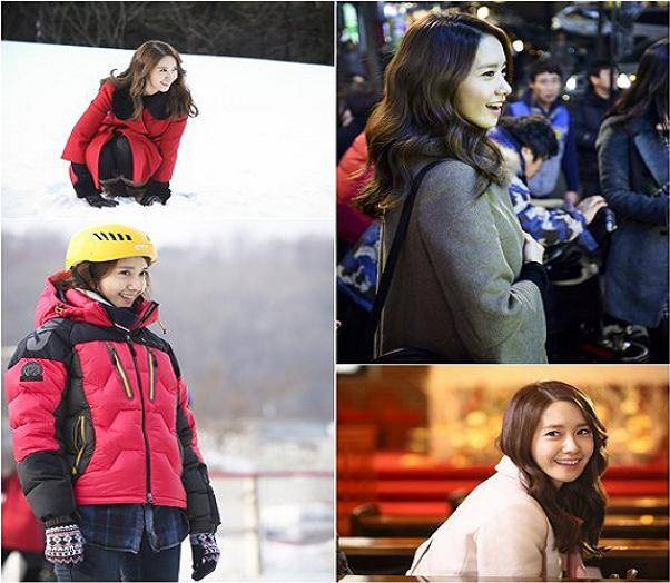 YoonA is a winter angel on the set of 'Prime Minister and I'