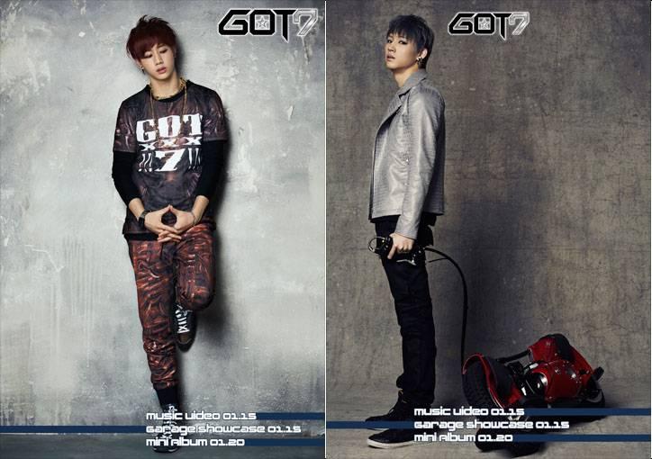 JB, Mark, GOT7, Mark