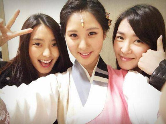SISTAR,Bora,Girls-Generation,Tiffany,Seohyun