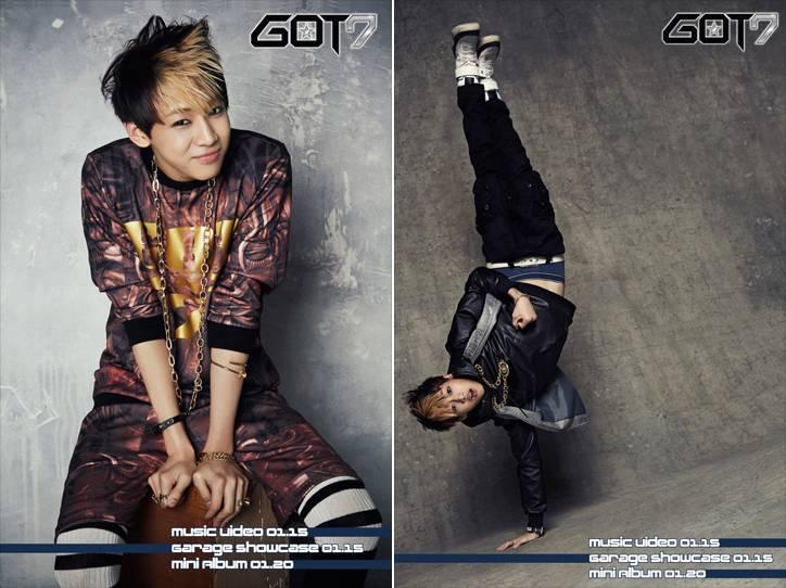 Youngjae, GOT7, JJ Project, BamBam, Jr.
