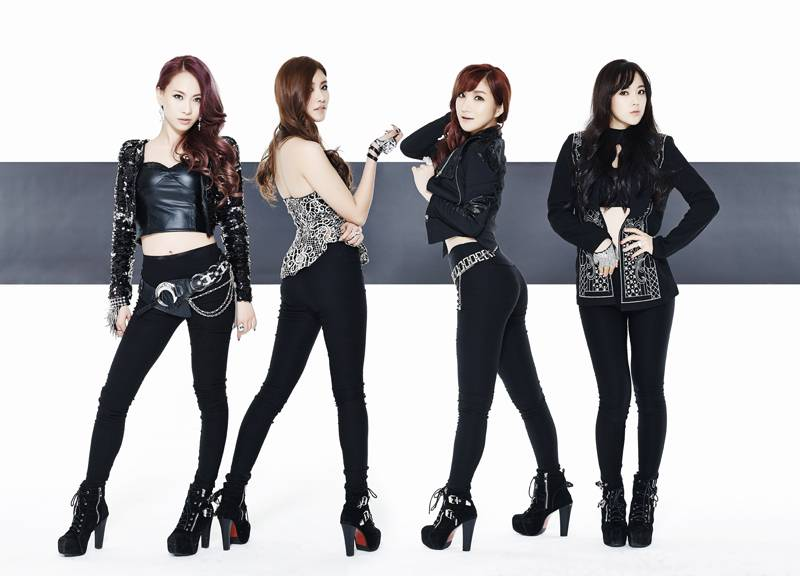 4 Member Rookie Girl Group Kiss Cry Drop Fierce And Sexy 39 Domino Game 39 Mv