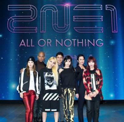 2NE1,CL,Dara,Minzy,Girls-Generation