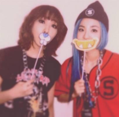 2NE1,Dara,Minzy