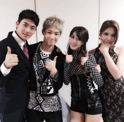 AoA,Hyejeong,Rainbow,Seung-Ah,ZEA,Hyungsik,got7,jb