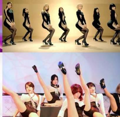 AoA,Ga-In,Dal-Shabet,Girls-Day,stellar,sunmi,rainbow-blaxx