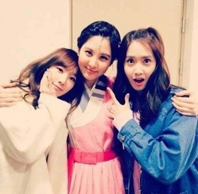 EXO,Girls-Generation,Taeyeon,YoonA,Seohyun