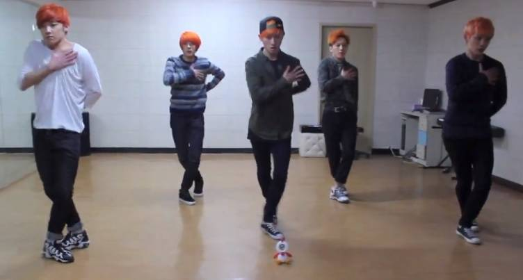 A-PRINCE dance to 'Yes or No'