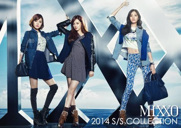 After School, Jooyeon, Raina, Nana, Lizzy, Kaeun