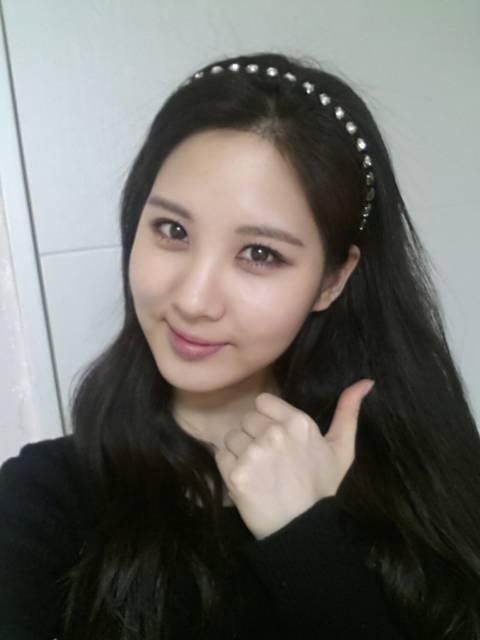 girls u0026 39  generation u0026 39 s seohyun wishes everyone a good day