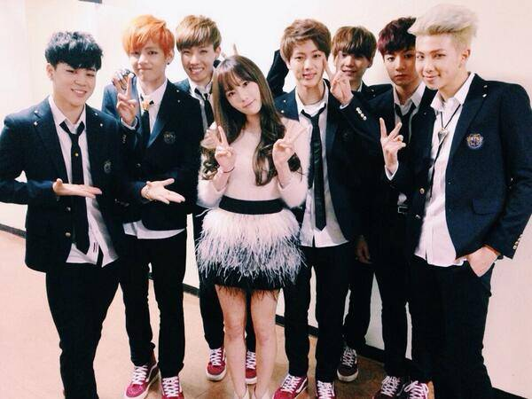 Girls-Generation,Taeyeon,bts