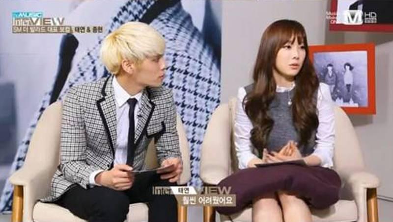 Jonghyun reveals he was jealous of Taeyeon's singing skills