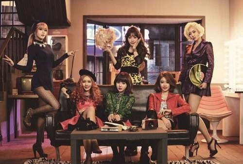 Lagu T-ara First Love Ft Eb