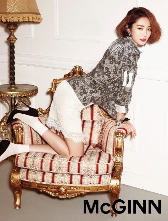 Go Jun Hee is a fashionista in trendy floral print for ...