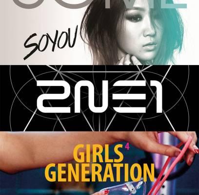 2NE1,CNBLUE,Soyu,Girls-Generation,sunmi,sung-si-kyung,junggigo