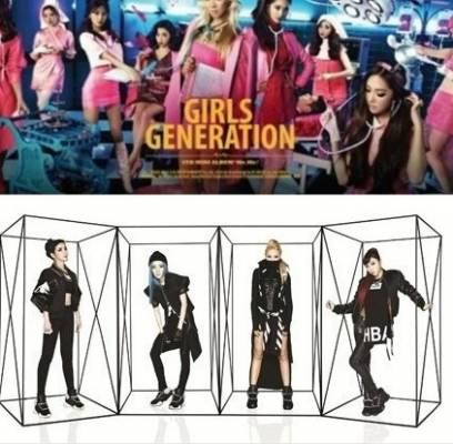 2NE1,Girls-Generation