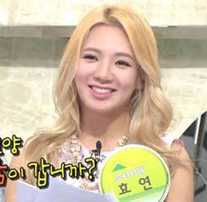 Soyu,Hyoyeon