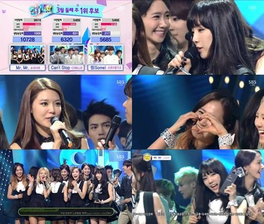 Girls' Generation wins #1 + Performances from March 9th's SBS 'Inkigayo'!