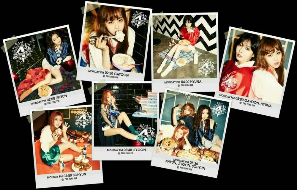 4minute, Jihyun, Gayoon, , HyunA, Sohyun