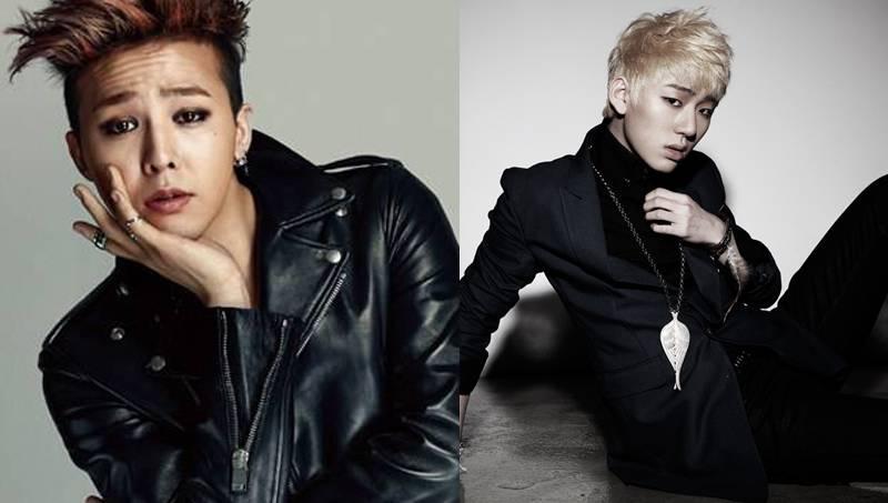 Fotos big bangs g dragon 2ne1 rapper cl left and electronic artist