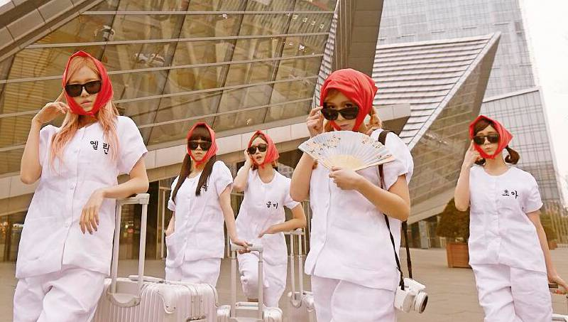 Crayon Pop reveal their thoughts on opening up for Lady Gaga's concert tour
