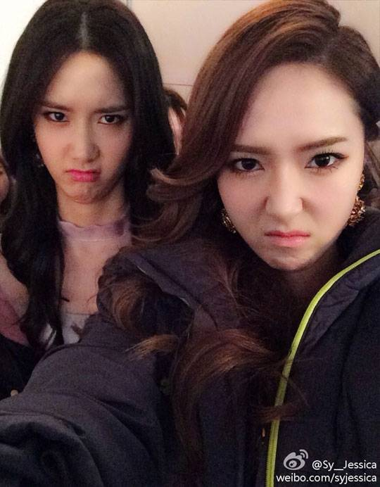 Girls' Generation's Jessica and YoonA are tired and cranky ...