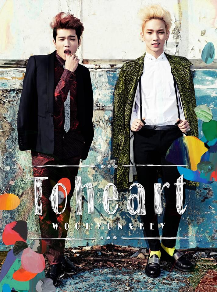 INFINITE,Woohyun,SHINee,Key,toheart