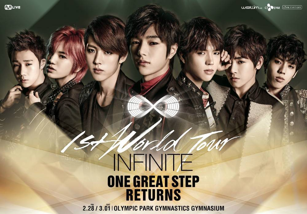 Dongwoon, INFINITE, INFINITE H, Sunggyu, L, Woohyun, Hoya, Sungjong, Sungyeol