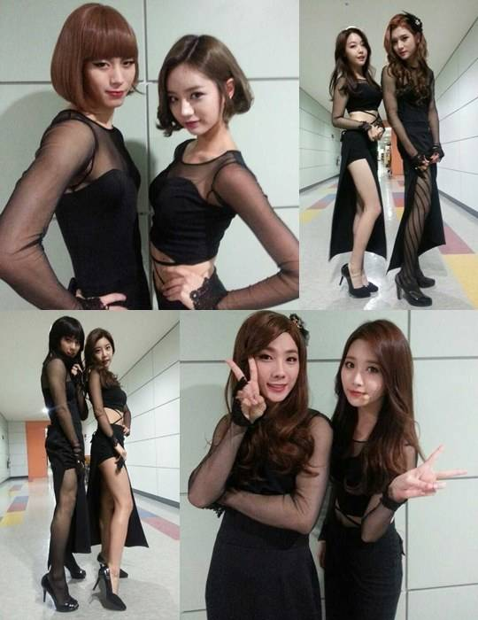 NUEST,Ren,A-JAX,Seungjin,BTOB,Minhyuk,Minhyuk,Girls-Day,VIXX,Hongbin