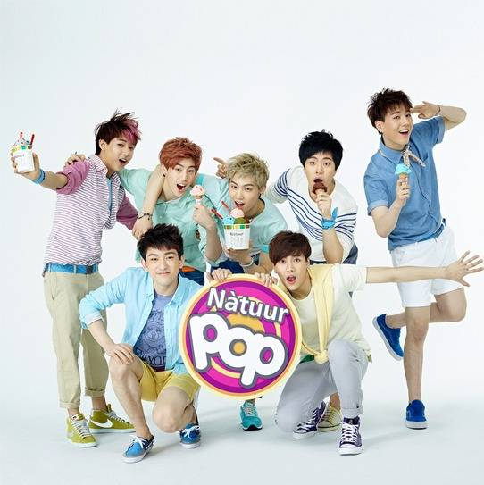 GOT7 are the new sweet faces for 'Natuur POP'