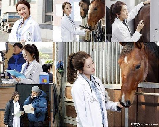 Jung Yoo Mi shows her love for animals in BTS photos for 'Mother's Garden'