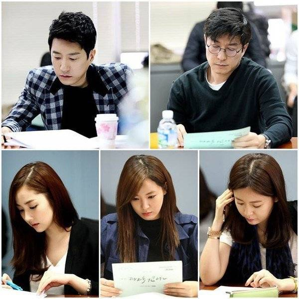 The leading cast of upcoming drama 'A New Leaf' attend first script reading