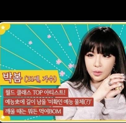 2NE1,Park-Bom,lee-dong-wook