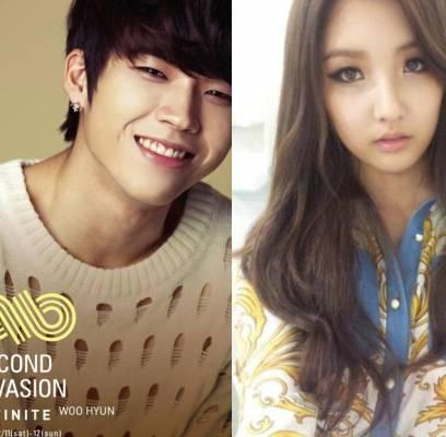 4minute,Jihyun,INFINITE,Woohyun,Sungyeol,baek-seung-heon