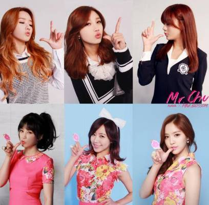 Orange-Caramel,A-Pink,EXO,Suho,Baekhyun,MBLAQ,Crayon-Pop,ZEA,Kwanghee,akdong-musician,eric-nam,nca,park-hyo-shin,toheart,eddy-kim