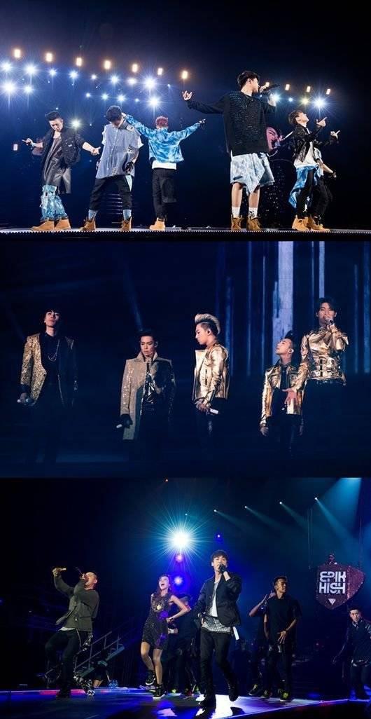2NE1, Big Bang, Lee Hi, Epik High, winner