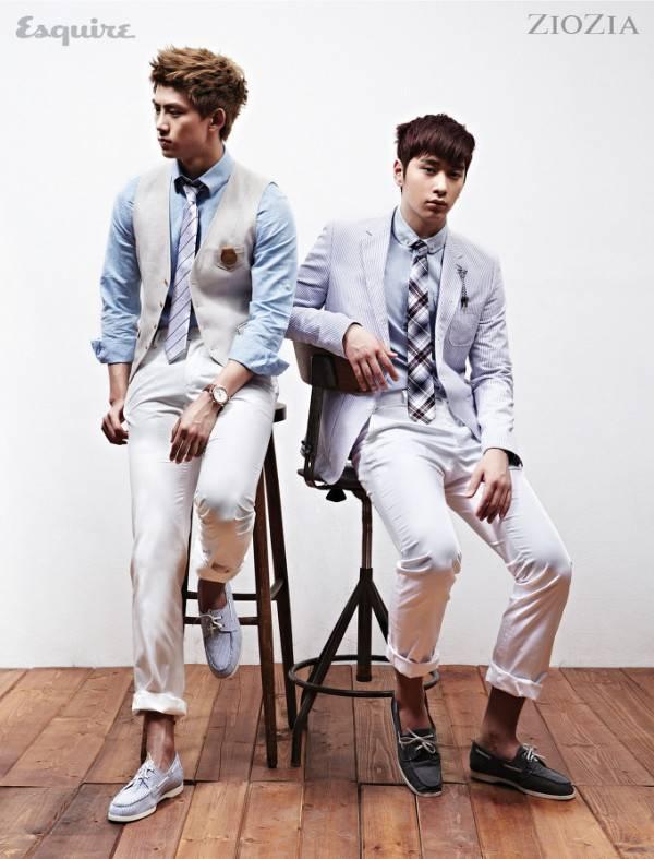 2PM, Taecyeon, Chansung