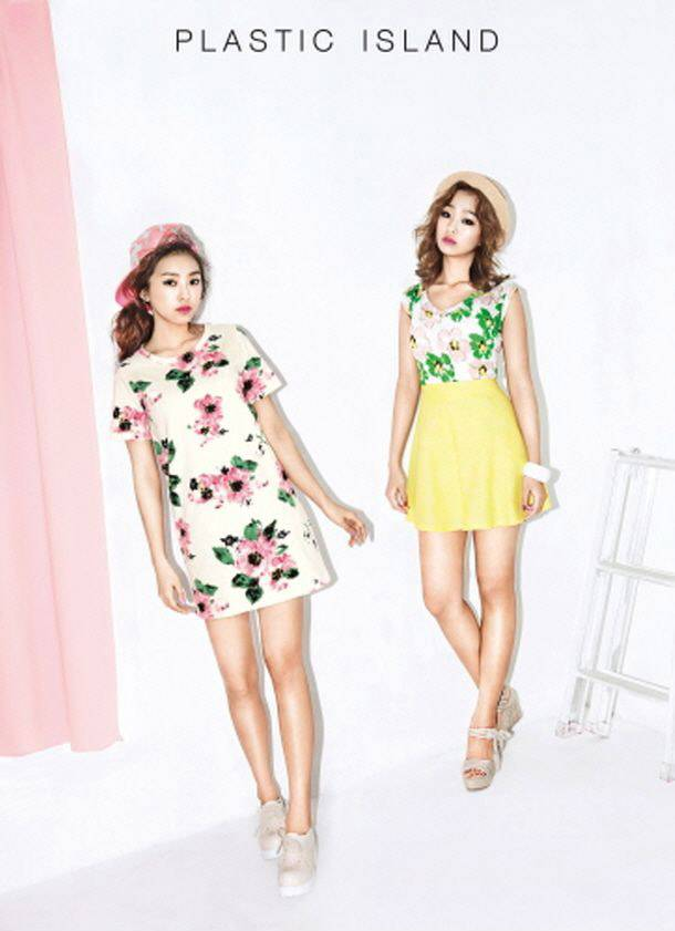 Hyorin and Bora are ready for the summer in 'Plastic ...Hyorin 2014
