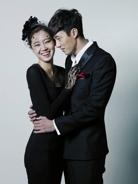 Cha Seung Won with beautiful, Wife Lee Soo-jin
