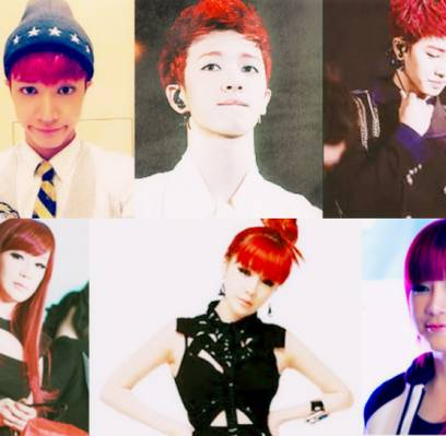 2NE1,Park-Bom,After-School,Jooyeon,B1A4,Jinyoung,B2ST,Kikwang,Big-Bang,G-Dragon,EXO,Luhan,fx,Krystal,SISTAR,Bora,Girls-Generation,Tiffany,U-KISS,Hoon